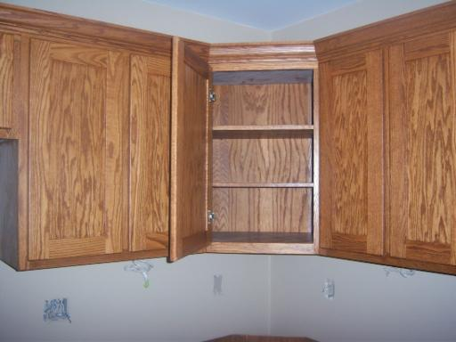 Upper corner cabinets pictures to pin on pinterest